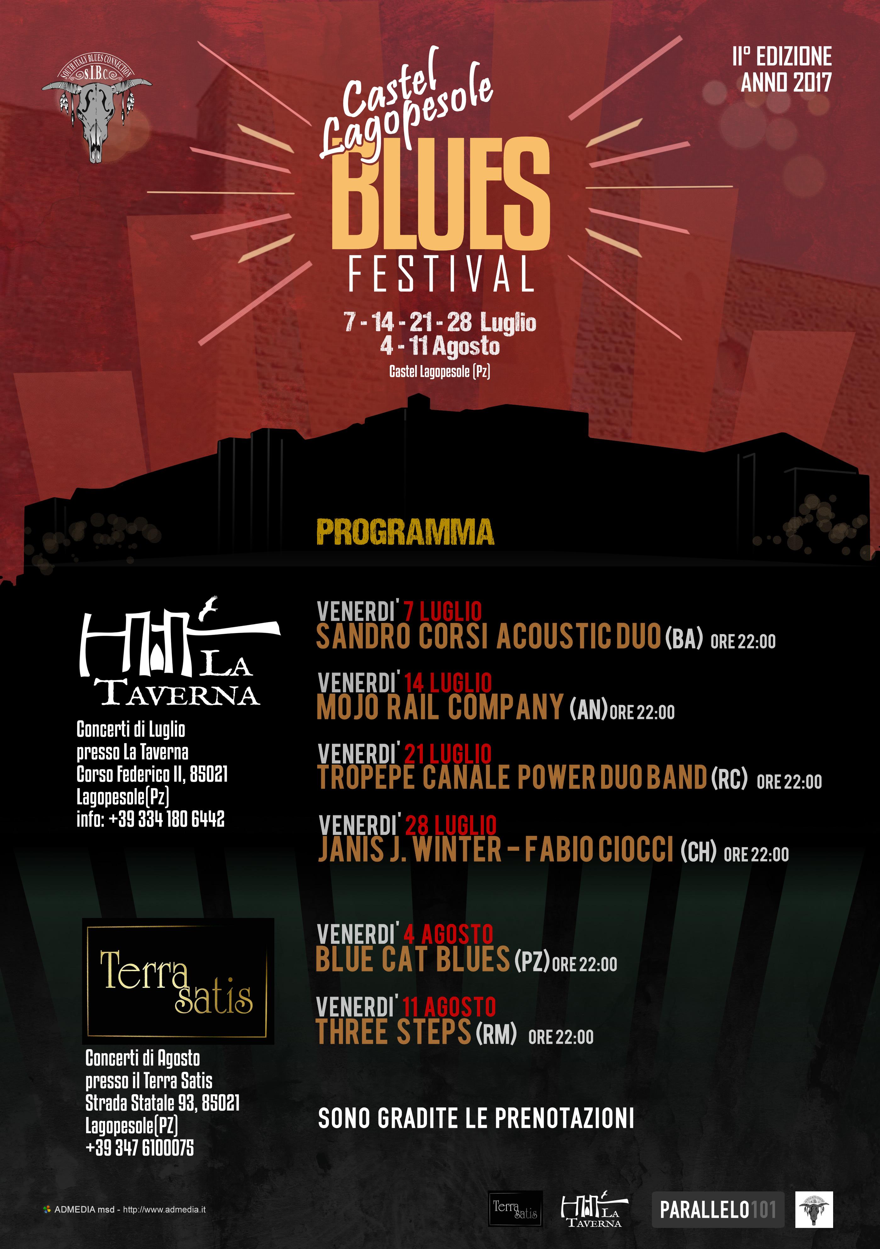Castel Lagopesole Blues Festival - II° EDIZIONE - 2017